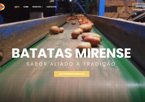 Lançamento do Website